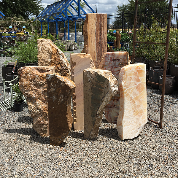 Tuscan Sun, Chelsea, and Rock Star Stone Pieces